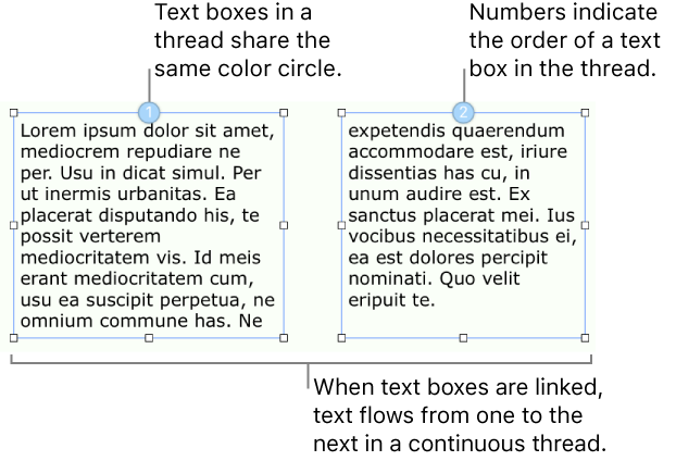 Pages For Mac Link Text Boxes In A Pages Document