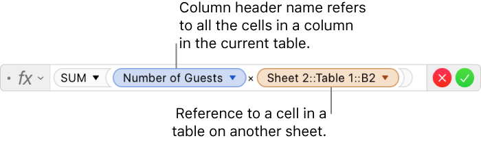 Pages for Mac: Calculate values in Pages using data in table cells