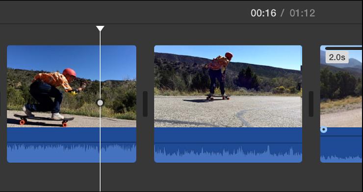 iMovie for Mac: Add a freeze frame
