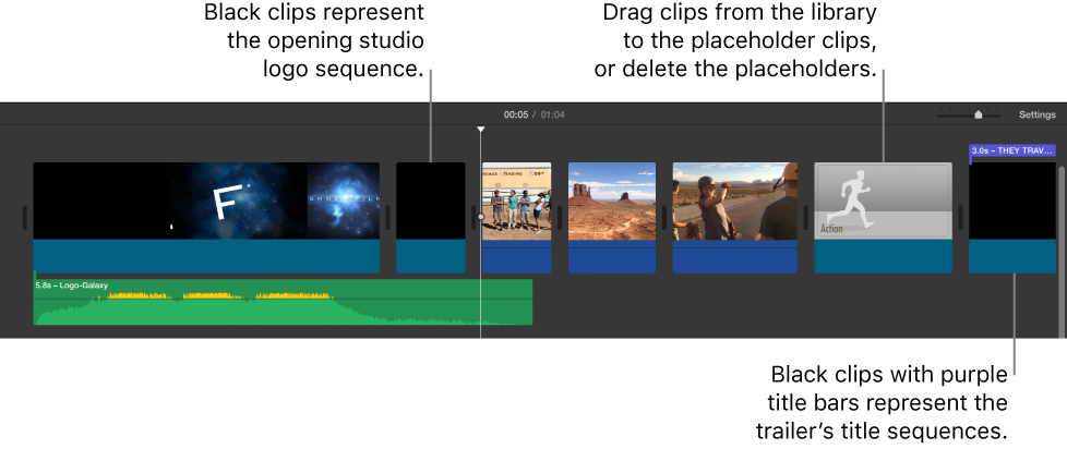 how to make a trailer on imovie mac