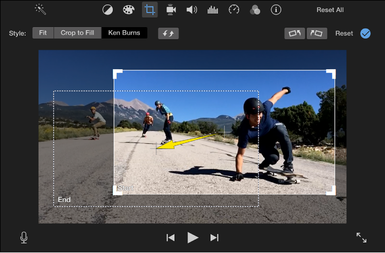 Imovie For Mac Add The Ken Burns Effect