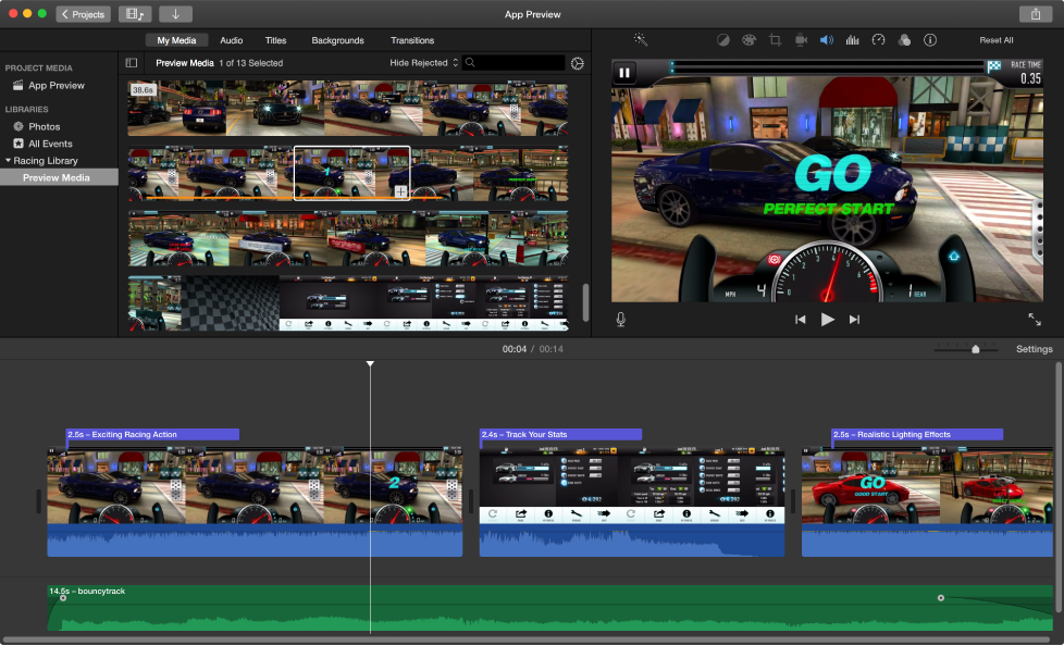 how to use the new imovie