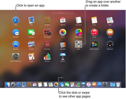 Change Launchpad Icon Size in Mac OS X Lion from Large to Small