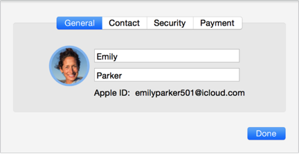 Icloud account details quotes