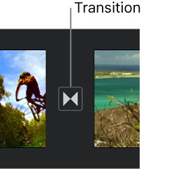 iMovie for iOS (iPad): Modify transitions