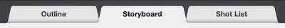 Figure. Trailer Storyboard tab.