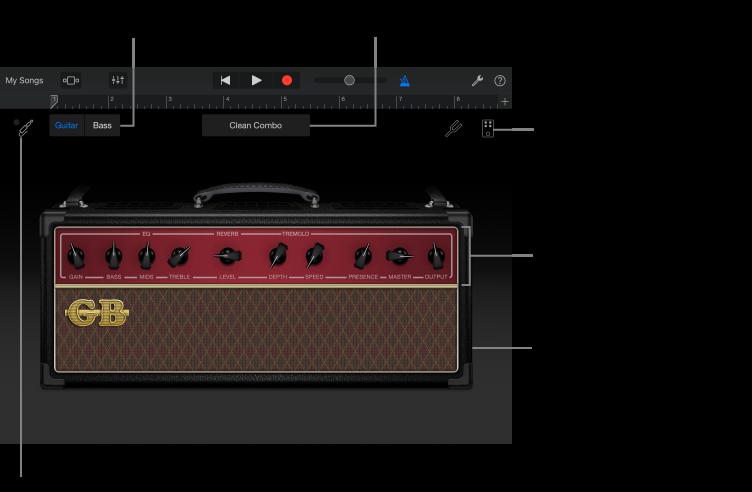 GarageBand for iOS (iPad): Play the Amp