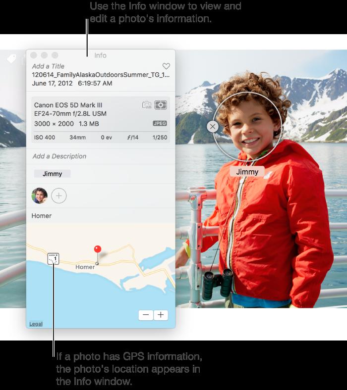 how to change user photo on mac sierra