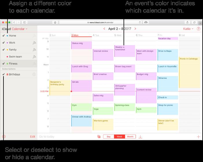 Calendario Icloud.Icloud Crear Un Calendario