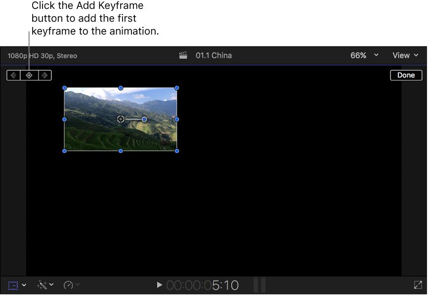 Final Cut Pro X: Trabajar con efectos integrados