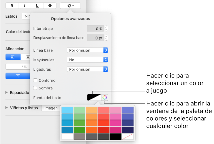 c24311342 Keynote para Mac  Añadir un efecto de resaltado al texto de una ...
