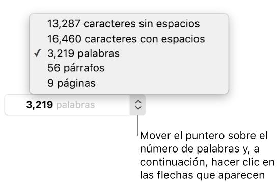 como buscar palabras en una pagina mac