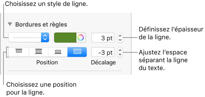 Pages Pour Mac Ajouter Des Bordures Et Des Regles Lignes Dans Pages
