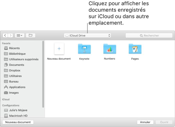 Pages Pour Mac Ouvrir Un Document Pages Existant