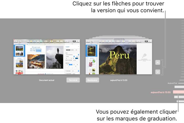 Pages Pour Mac Retablir Une Version Precedente D Un Document Pages