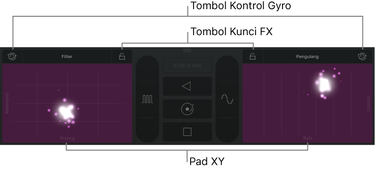 GarageBand for iOS (iPad): Membuat remix lagu
