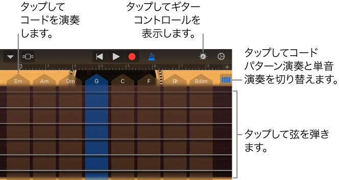 how to connect guitar to garageband iphone