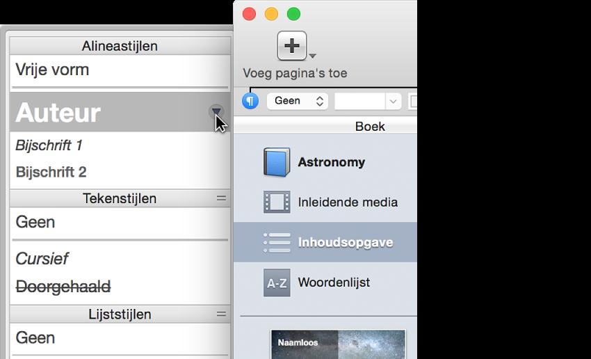 iBooks Author  Tekst opmaken met stijlen