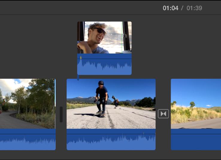 62873e8d iMovie for Mac: Lag en bilde-i-bilde-effekt