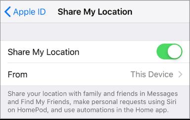 dating app iPhone plassering