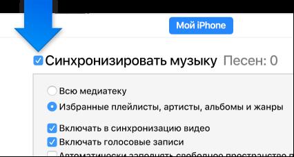 синхронизация фото с iphone