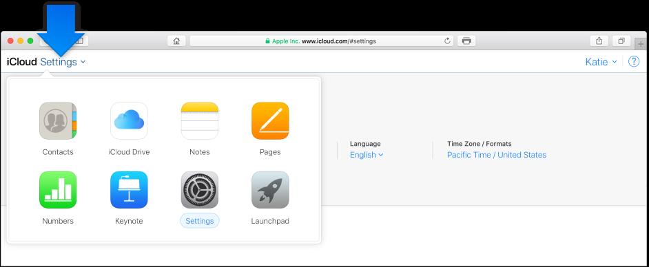 在点按左上角的当前 App 名称后,系统会显示您可以切换到的其他 App 的图标。