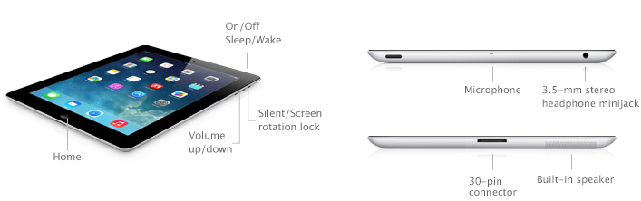 Ipad 2 Technical Specifications