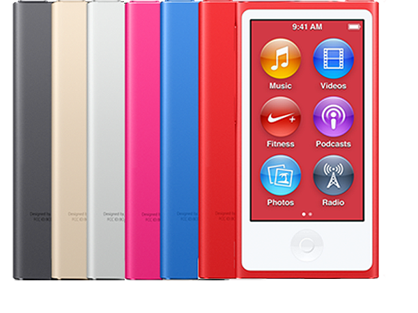ipod nano 7th generation   technical specifications