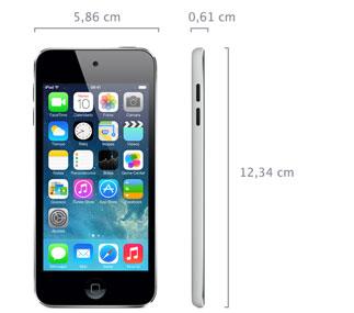 iPod touch 16GB (5ª generación, mediados de 2013) - Especificaciones ...