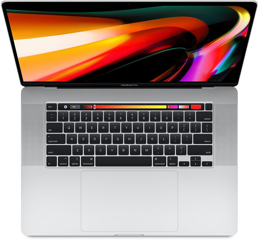 sp809 mbp16touch silver 2019 - Apple MacBook Pro 16 2019 i7 2.6/16GB/512GB Silver MVVL2RU/A