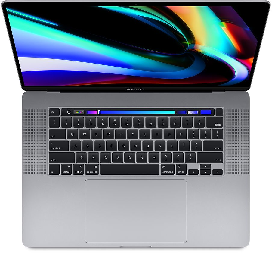 sp809mbp16touch space 2019 - Apple MacBook Pro 16 2019 i9 2.3/16GB/1TB Silver MVVM2LL/A