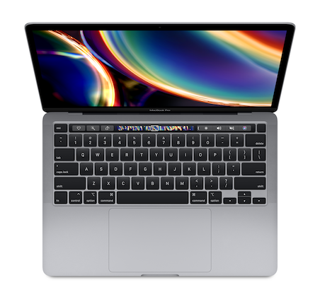 sp818 mbp13touch space select 202005 - Apple MacBook Pro 13 2020 i5 1.4/8GB/512GB Серый Космос  MXK52RU/A