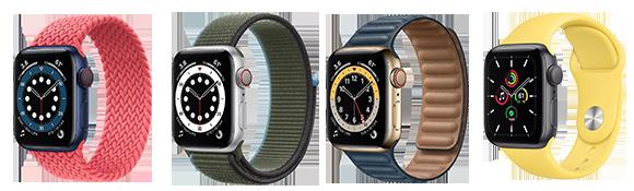 Apple Watch Series 6 - Caractéristiques techniques