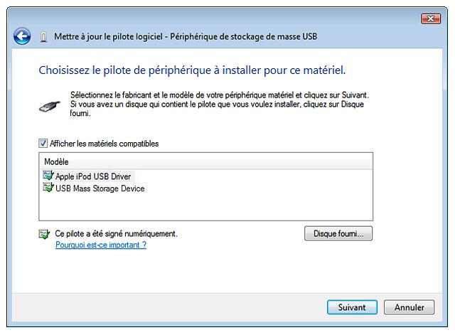 comment ouvrir un disque dur externe qui n'apparait pas