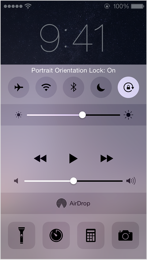 iphone lock rotation my iphone 6 is locked in vertical mode h apple community 12005