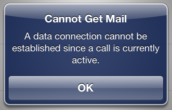 cannot get mail on iphone 301 moved permanently 2323