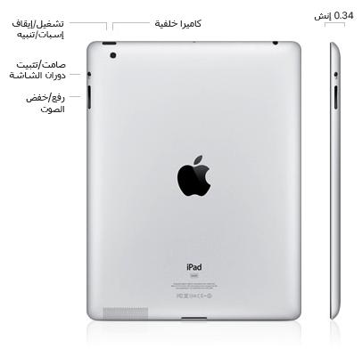 تحديد طراز Ipad Apple الدعم