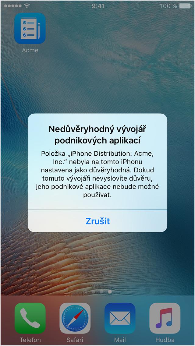 Nejlepší apple připojení aplikace