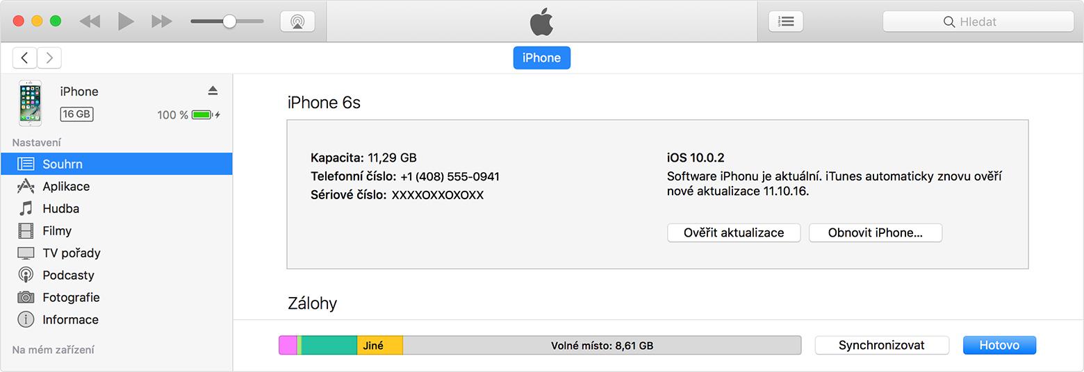 Aktualizace softwaru iOS na iPhonu, iPadu nebo iPodu touch ...
