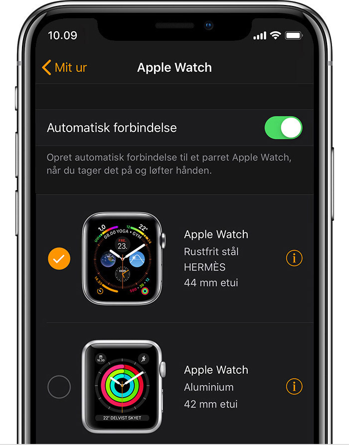 Johns 42 mm Aluminium Apple Watch i appen Apple Watch.