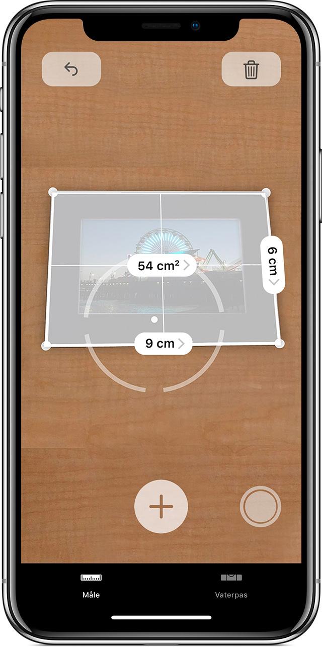 afstandsmåler app iphone