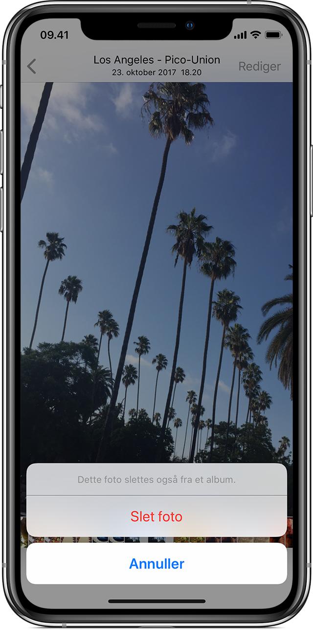 Sletning Af Billeder Pa Din Iphone Ipad Og Ipod Touch Apple Support