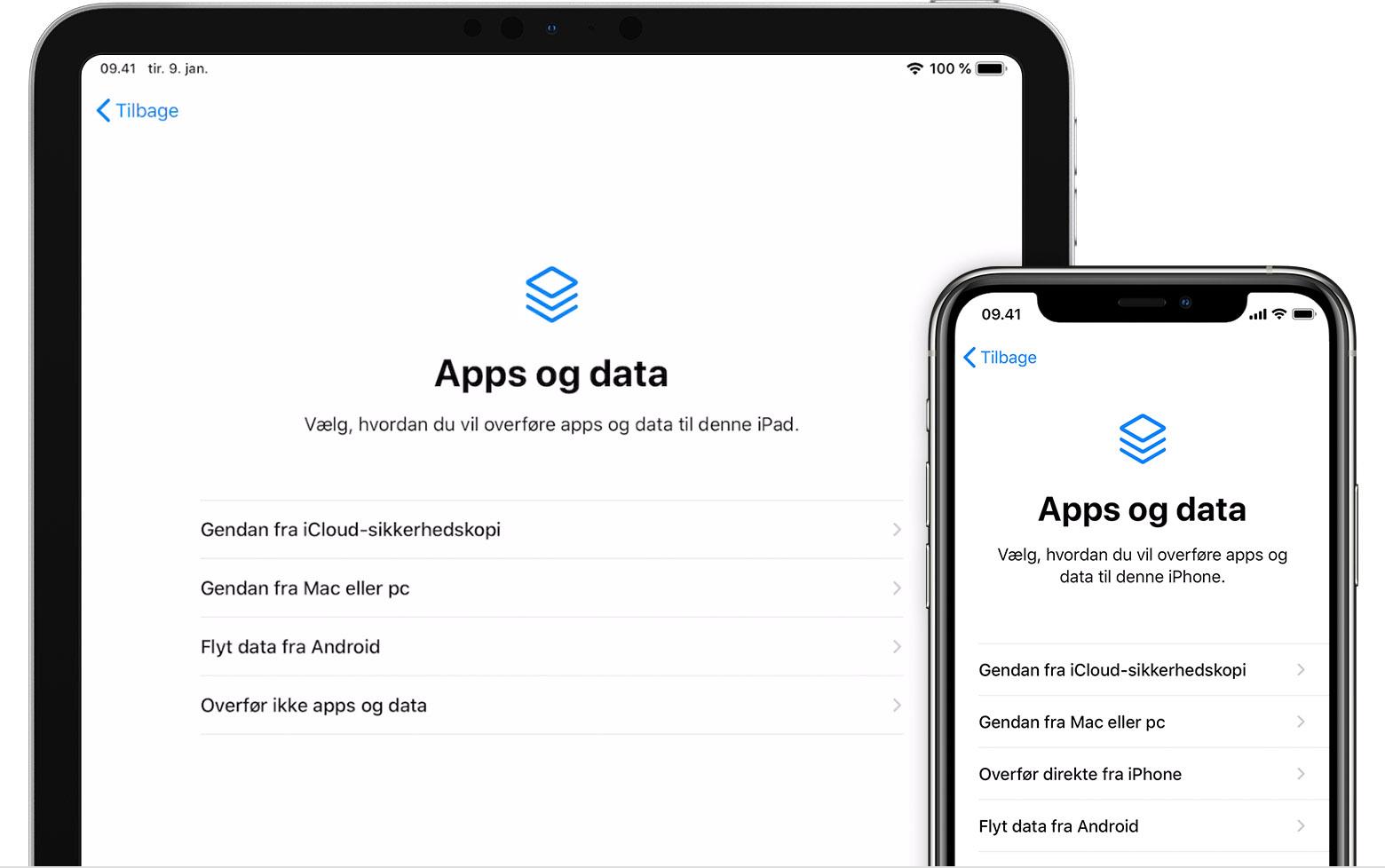 Om Sikkerhedskopier Til Iphone Ipad Og Ipod Touch Apple Support