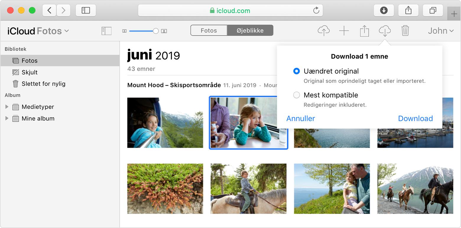 Opsaetning Og Brug Af Icloud Fotos Apple Support