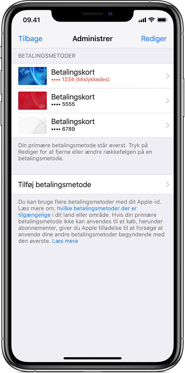 Itunes Kontakt Danmark