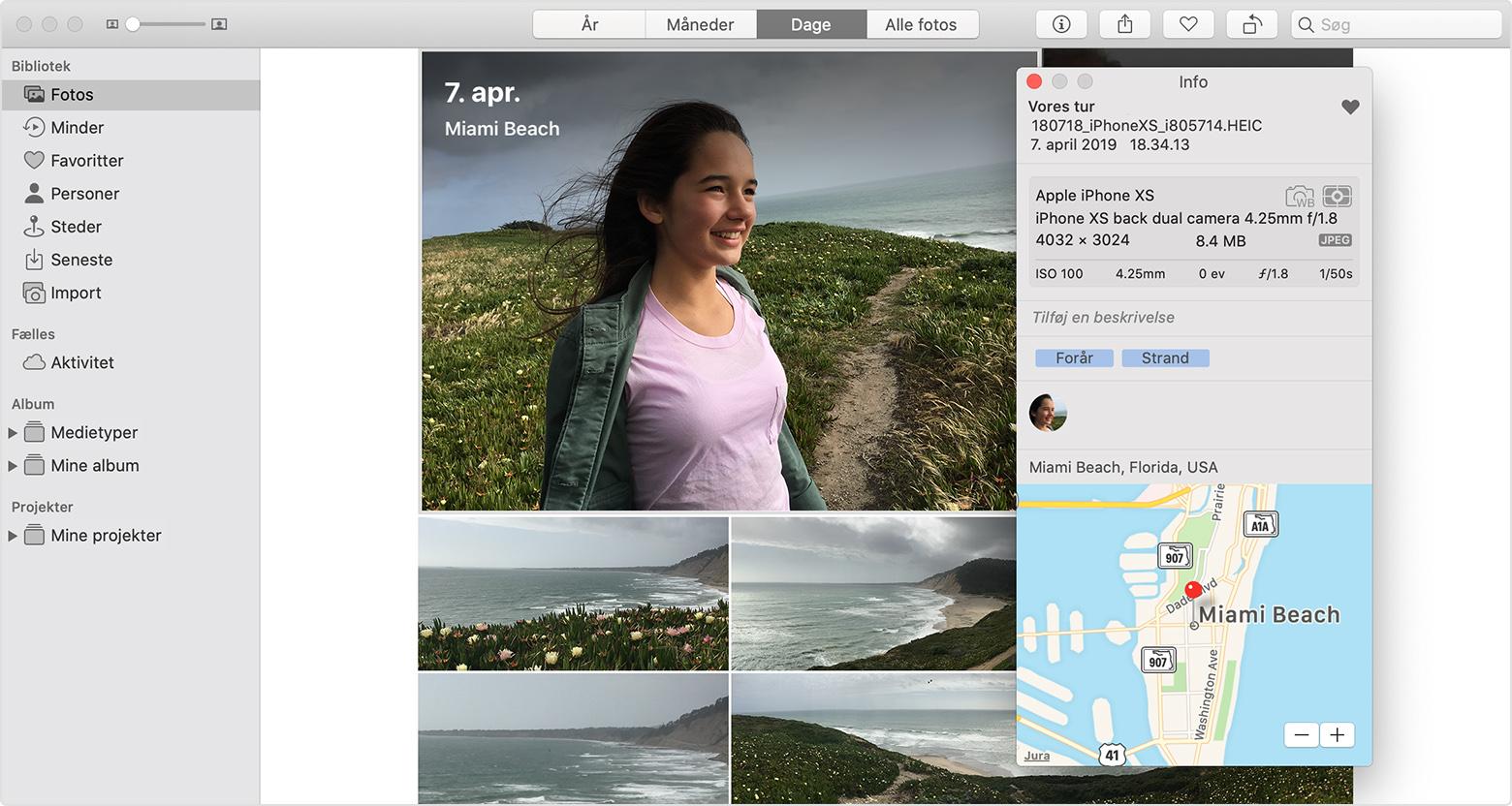 Sadan Bruger Du Fotos Pa Din Mac Apple Support