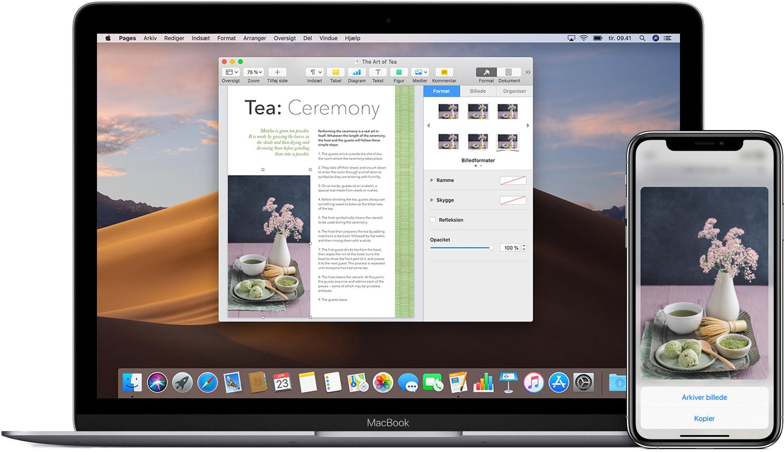Brug Universel Udklipsholder Til At Kopiere Indhold Og Indsaette Det Pa Andre Af Dine Apple Enheder Apple Support