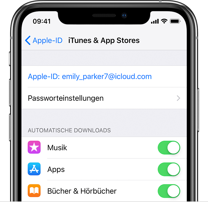apple familienfreigabe apps