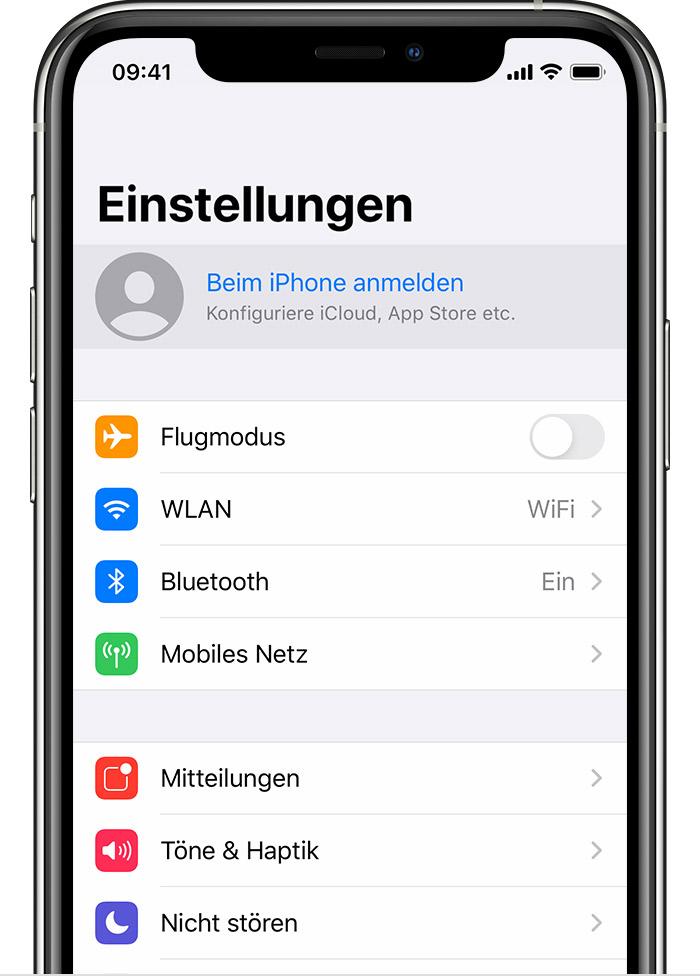 Mit Der Apple Id Anmelden Apple Support