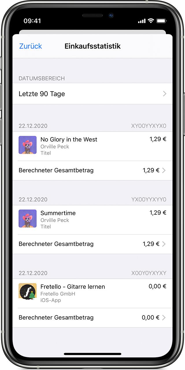 iTunes Karte online kaufen im VGO-Shop